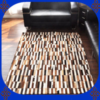Gratis verzending via DHL 100% natuurlijke echt rundleder iran machine gemaakt tapijt