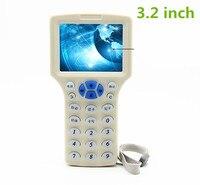 USB smart NFC kopie Reader Writer RFID 125 KHz-13.56 MHz IC/Id-kaart RFID Copier voor uid tag Duplicator Engels Voice + T5577