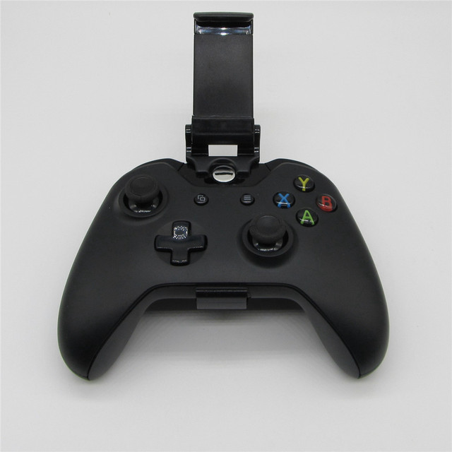 Phone Mount Bracket Hand Grip Stand For Xbox ONE S Slim Ones Controller Adjustable Clip Holder