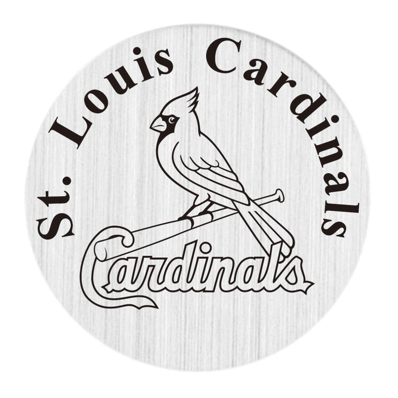 St. Louis Cardinals 22mm Stainless Steel Locket Window Plate Floating Charms Fit 30mm Glass Living Lockets 20pcs/lot