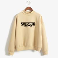 Stranger Things   Sweatshirt   Women Brand Fashion Casual Autumn Winter   Hoodies   Fleece Long Tracksuit Loose Hoodie   Sweatshirt