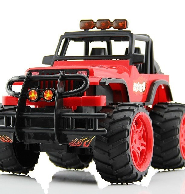 1:16 shatterproof anti-violence remote off-road vehicles, not afraid to break the remote antenna