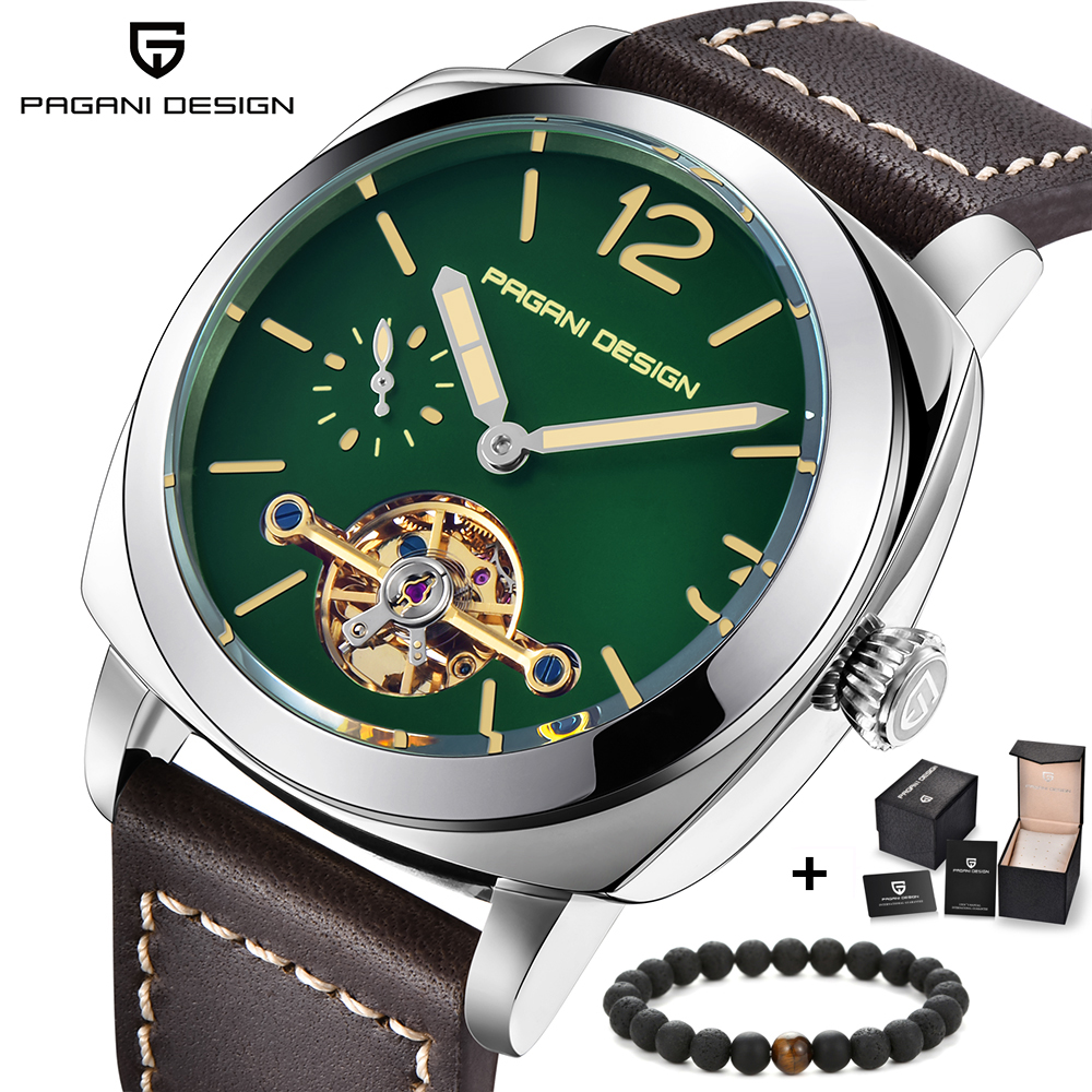 PAGANI DESIGN Top Brand Mens Automatic Mechanical Watches Luminous Leather Fashion Casual Waterproof Watch relogio masculinoPAGANI DESIGN Top Brand Mens Automatic Mechanical Watches Luminous Leather Fashion Casual Waterproof Watch relogio masculino