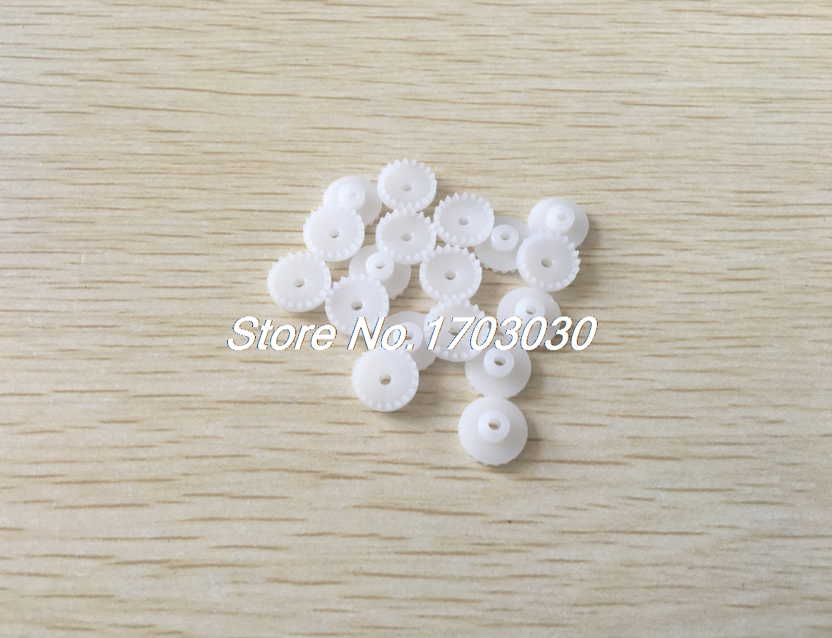 30Pcs 11mm x 2mm 20 Teeth Single Reduction RC Model Motor Drive Shaft Crown Gear jmt multi specification short shaft package gear shaft transmission shaft geared motor part diy rc model accessories f19202 210