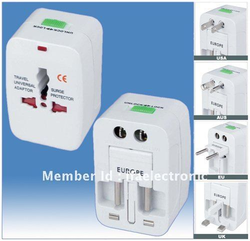 Universal travel adaptor make your travel relax and easier