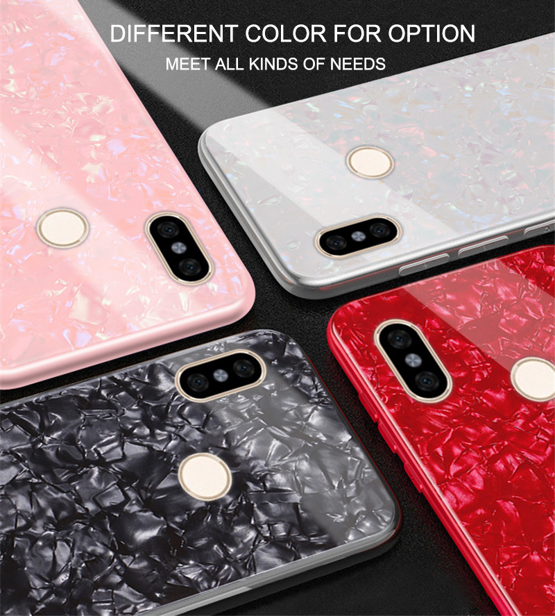 save off 0c751 3a010 US $4.96 |Tempered Glass Case For Xiaomi Redmi Note 5 Pro luxury Silicone  Bumper Marble Shell Hard Back Cover For xiomi Redmi Note 5 caso-in Fitted  ...