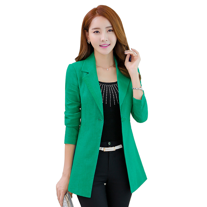 Compare Prices on Green Blazer Women- Online Shopping/Buy Low ...