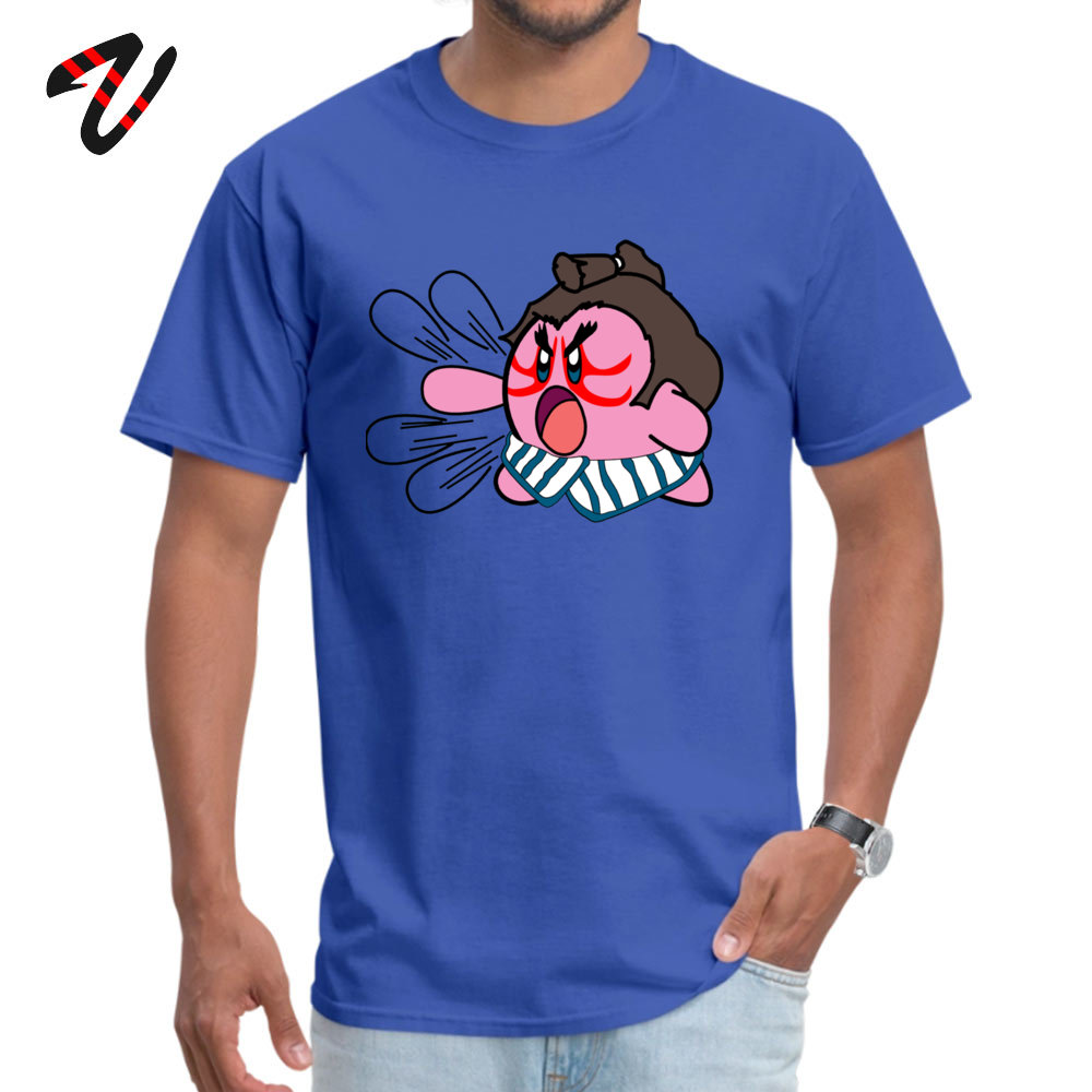 E. Kirby Men 2019 New Fashion Casual T Shirt Crew Neck Thanksgiving Day 100% Cotton Top T-shirts Casual Short Sleeve T Shirt E. Kirby 9545 blue