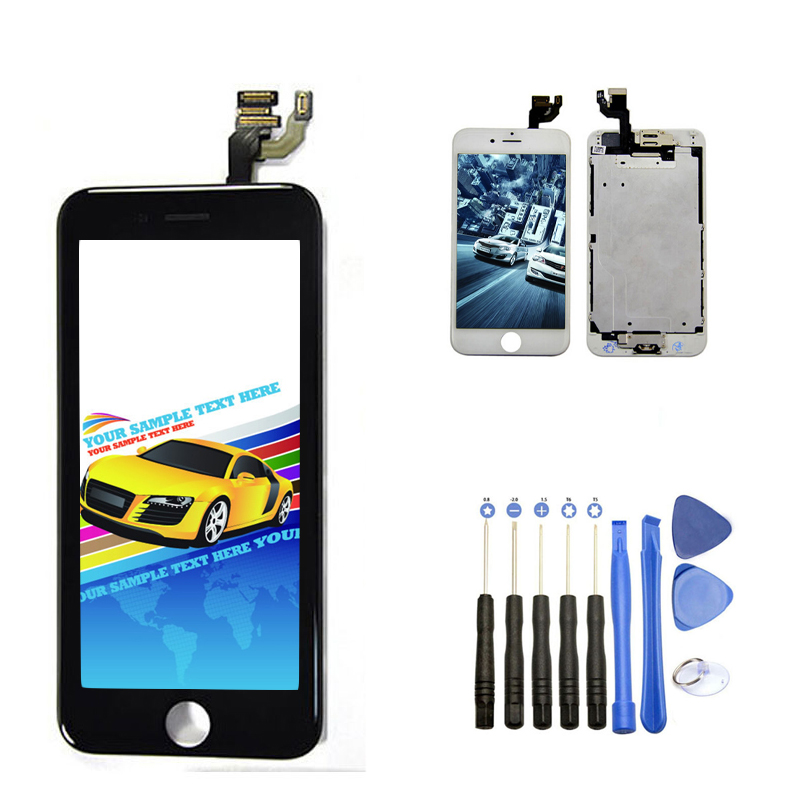 Onecell LCD Display Touch Screen Digitizer Full Assembly With Small Parts Opening Tools For Iphone 6 4.7