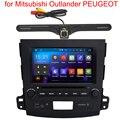 2 DIN Android 5.1 GPS Стерео для Mitsubishi Outlander PEUGEOT 4007 В экране Радио Радио Видео Плеер WI-FI головного устройства Задний Caemra