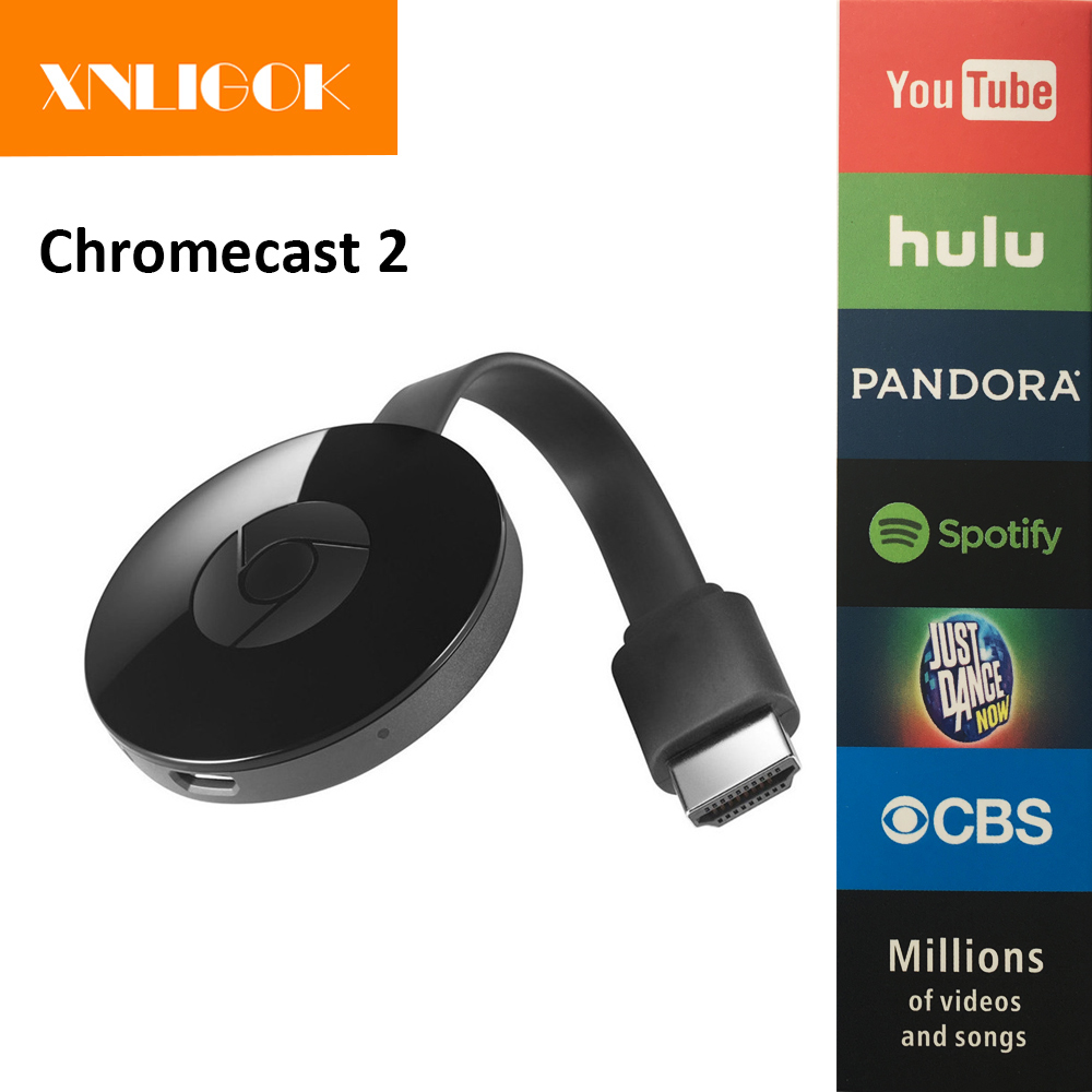 Wecast E8 Google Chromecast 2 smart TV stick dual core RK3036 H.265 Miracast DLNA Airplay Wifi display del ricevitore dongle