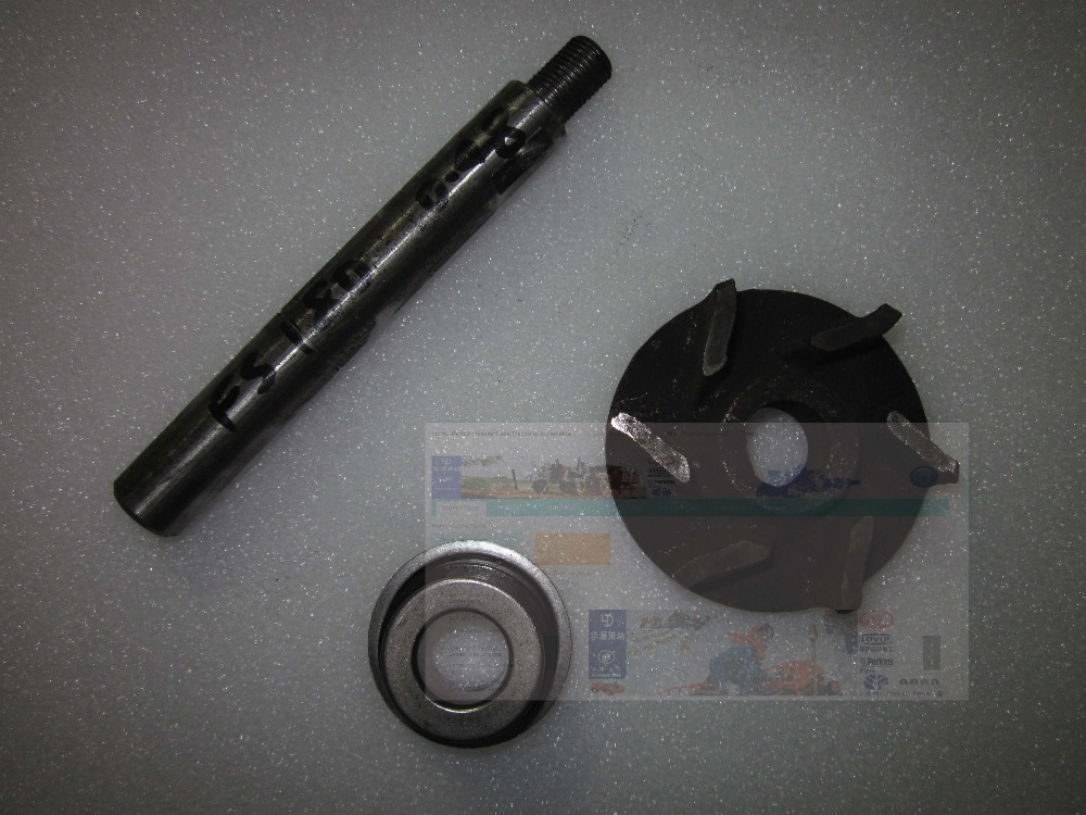 Fengshou FS184 Estate-184 set of water pump repair kit: seal, shaft and impeller polaris sportsman 400 500 water pump rebuild kit with billet impeller