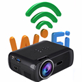Android 4.4 Wifi CTL-80 Mini TV Projector Home cinema portable HD multimedia proyector led lcd 3D Projectors projetor beamer