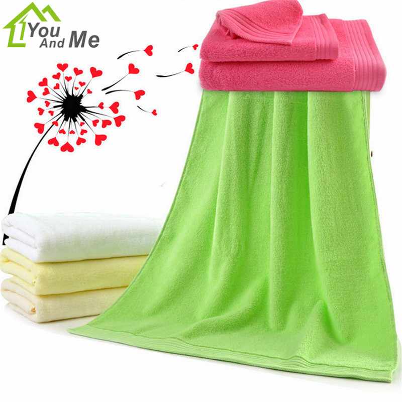 34x74 cm textiles para el hogar 100% algodón del color del caramelo beach towel