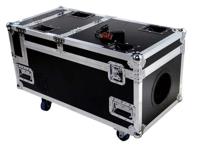 Высокая мощность 3000 Вт машина для водяного дыма dmx управление с корпусом полета тяжелый дым dj машина для сценического Света диско оборудова