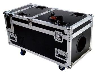 Ad alta potenza 3000 W macchina del fumo dmx di controllo con il caso di volo fumo pesante dj macchina per la luce della fase della discoteca attrezzature