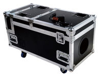 High power 3000W water smoke machine dmx control with flight case heavy smoke dj machine for stage light disco equipment