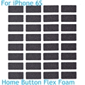 Original new home button flex cable sponge for iphone 6S 4.7'' home flex connector foam pads