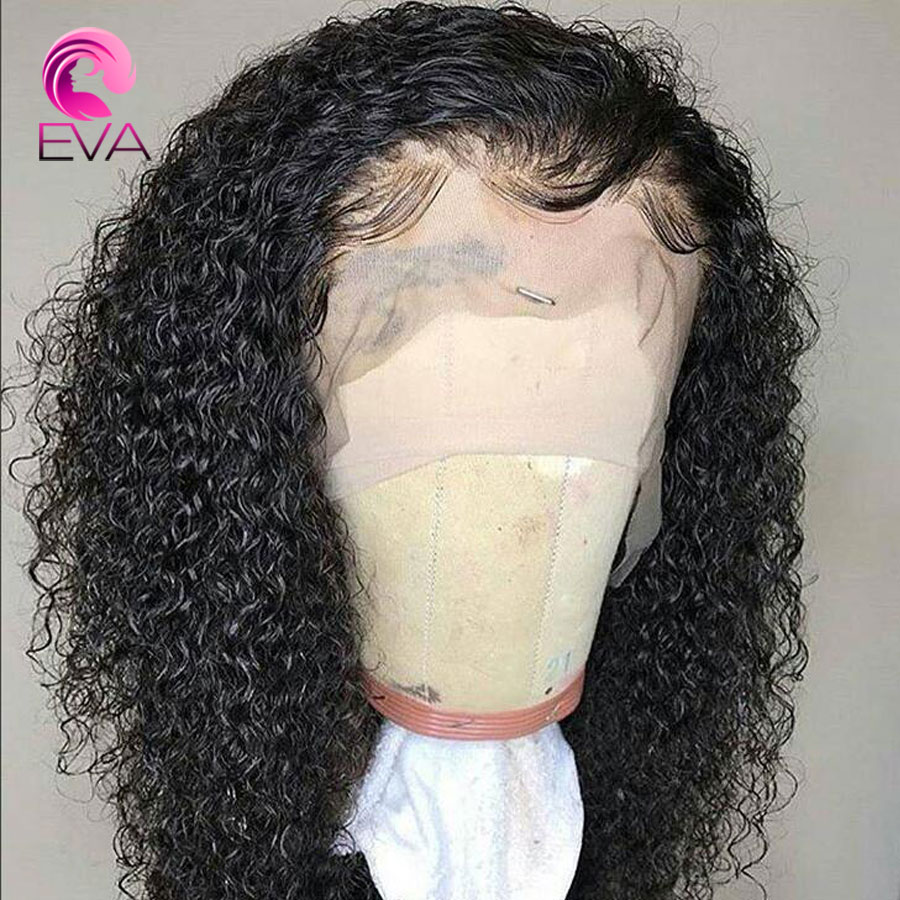 360 Lace Frontal Wigs For Women Black Brazilian Remy hair Pre Plucked Lace Front Human Hair Wigs With Baby Hair Curly Lace Wigs