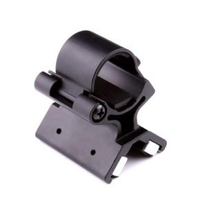 Image 5 - VASTFIRE Umfang Montieren Starke Military Dual Magnetische X Taktische Taschenlampe Waffe Gun Halterung Olight X WM02 DIY 23 26mm durchmesser