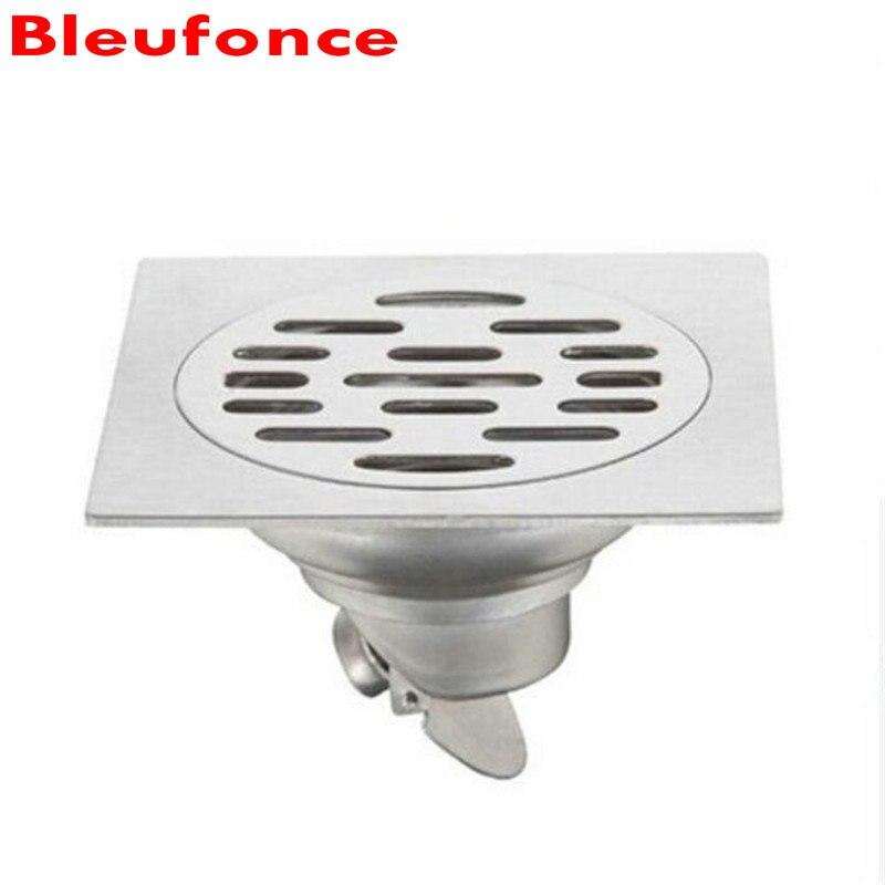 Bathroom Floor Waste Smell : Bathroom shower waste drain sus stainless steel square