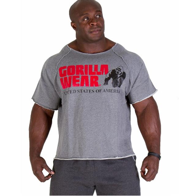 2016 Verão desgaste musculação ouros homens fitness Plus Size Impressão camisa Marca vest Academias musculation Sportswear tamanho Europeu