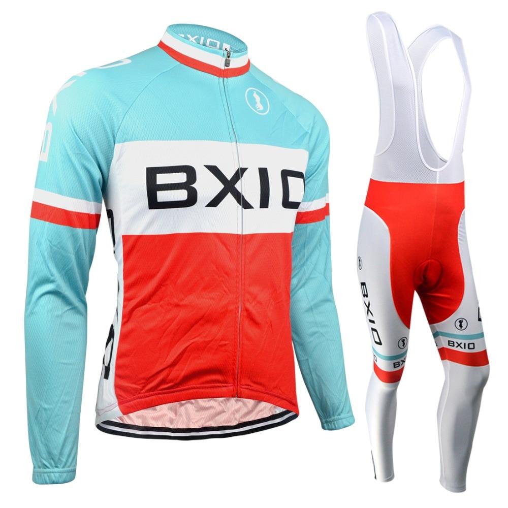 ФОТО Bxio Breathable Bicycle Cycling Sets Winter Mountain Racing Bike Cycling Clothing Set Ropa Ciclismo Sportswear BX-0109RB053
