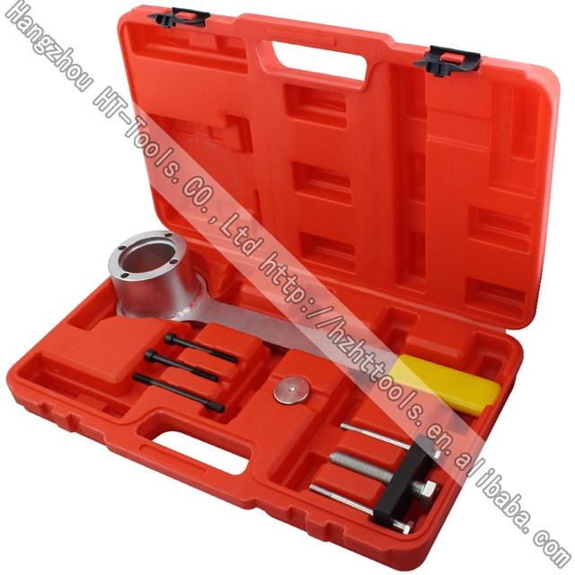 Crank Pulley Tool Set Crank Anti Rotation Locking Tool for Jaguar, Land Rover