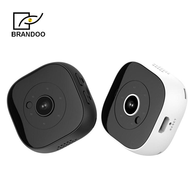 Livraison gratuite, Brandoo 9 HD 1080 P Mini caméra WIFI caméra sans fil Smartphone App Micro-caméra infrarouge CCTV sécurité à distance