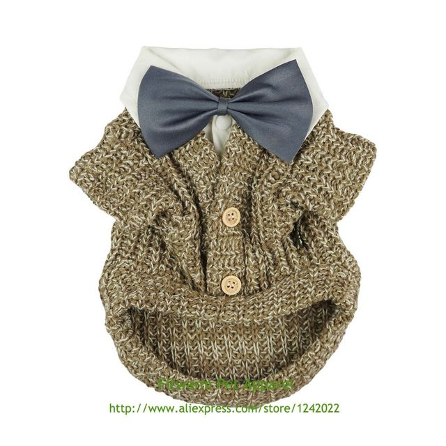 Fitwarm Knitted Dog Sweaters Coats Winter Sweatshirts Pet Clothes