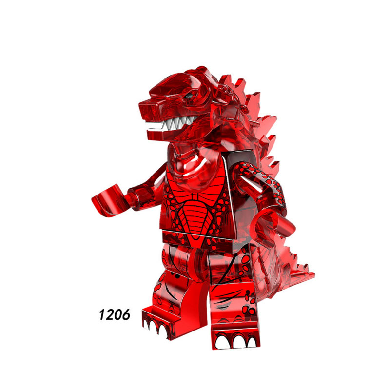 Single Sale Super Heroes Star Wars 1206  Godzillaing Model Mini Building Blocks Figure Bricks Toy Gift Compatible Legoed Ninjaed