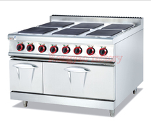 RY-EH-897A Vertical electric six (panels) cooking stove and even the oven competition panels and diagrams