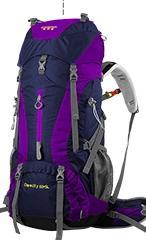 Creeper marca profesional 65l bolsa de deporte grandes hombros mochila de nylon impermeable para acampar al aire libre senderismo escalada yd-236