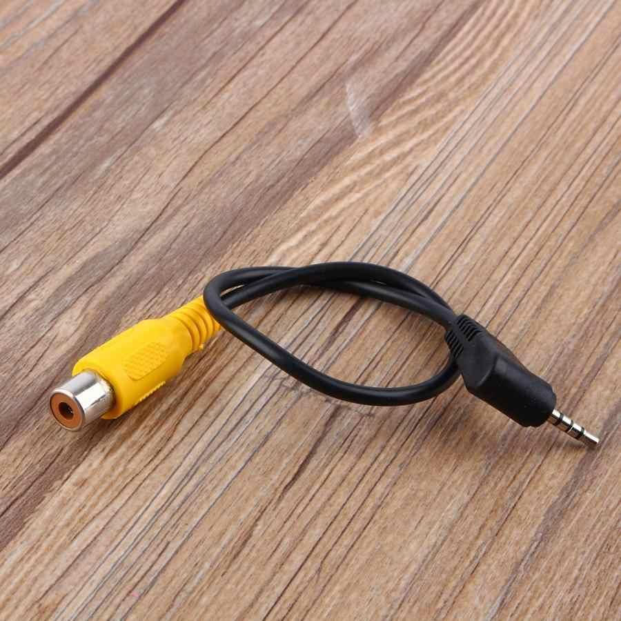 1 шт. AV Конвертация gps Видео Кабель gps AV в адаптере 2,5 мм AV-IN кабель Автомобильная камера заднего вида в gps кабель конвертер