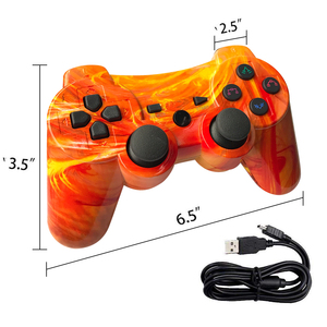 Image 5 - Nhiều Màu Bluetooth Điều Khiển Cho Sony PS3 Tay Cầm Chơi Game Cho Play Station 3 Không Dây Joystick Dành Cho Playstation 3 PC SIXAXIS Điều Khiển