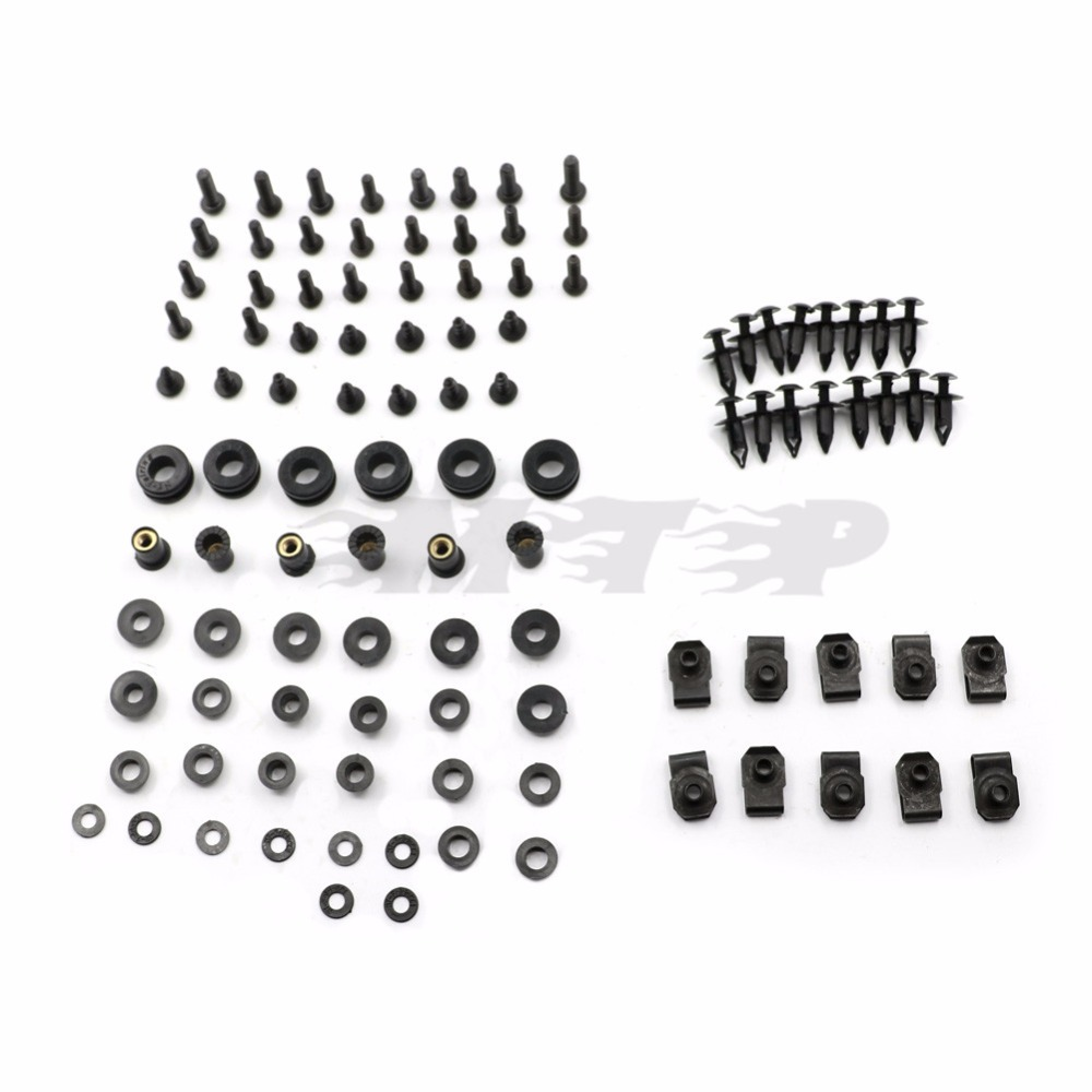 Motorcycle Fairing Bolt Screw For Suzuki GSXR1000 GSX-R 1000 K5 2005 2006 GSXR 1000 05 06 Fastener Fixation Complete Kit Nut