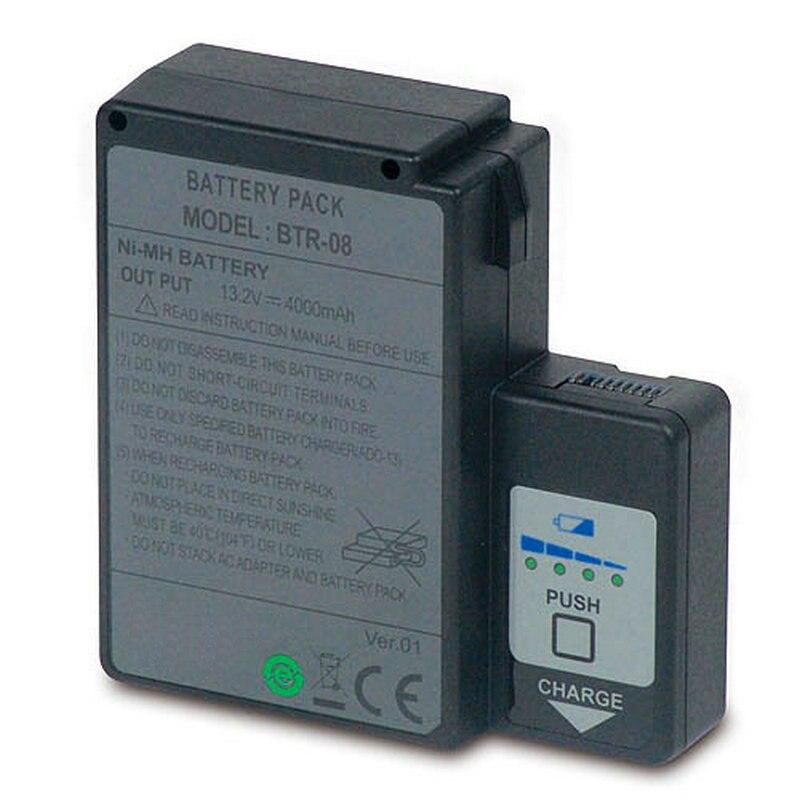 4000mAH Nouvelle fibre Optique Batterie pour Fujikura FSM-60S FSM-60R FSM-18S FSM-18R BTR-08 11HR-4/3FAUP