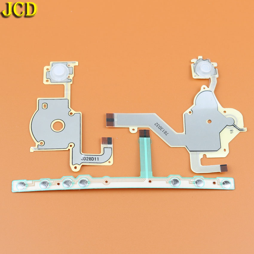 JCD 1pcs For Sony PSP 2000 Direction Cross Button Left Key Volume Right Keypad Ribbon Wire For PSP2000 Flex Cable
