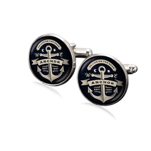 1 pair Canada Maple Leaf Theme Cufflink 18mm Glass Charms Silver Plated Copper Based Multi Customized Pattern XK0021(China)