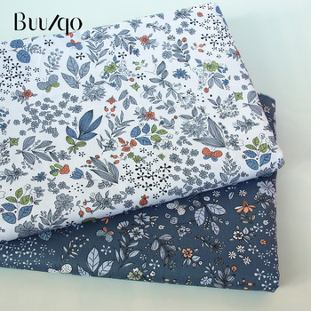 buulqo Printed Kids Cotton fabric baby quilting cotton twill fabric by meter DIY sewing craft cotton material 2