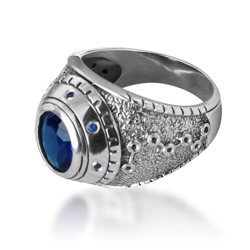 Bahamut Fist Of The North Star 925 Sterling Silver Jewelry Ring The Big Dipper Ring кулак для фистинга the fist