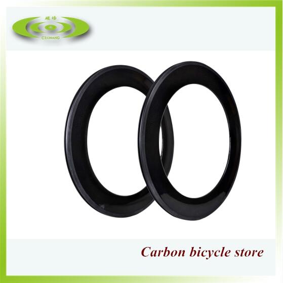 Factory sale 88mm carbon rims clincher road bicycle rim with free shippingFactory sale 88mm carbon rims clincher road bicycle rim with free shipping