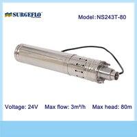 Постоянный магнит бесщеточным Мотором 80 м 3/ч солнечный насос Китай Мини солнечной цилиндра насос для хорошо Солнечный водяной насос машины