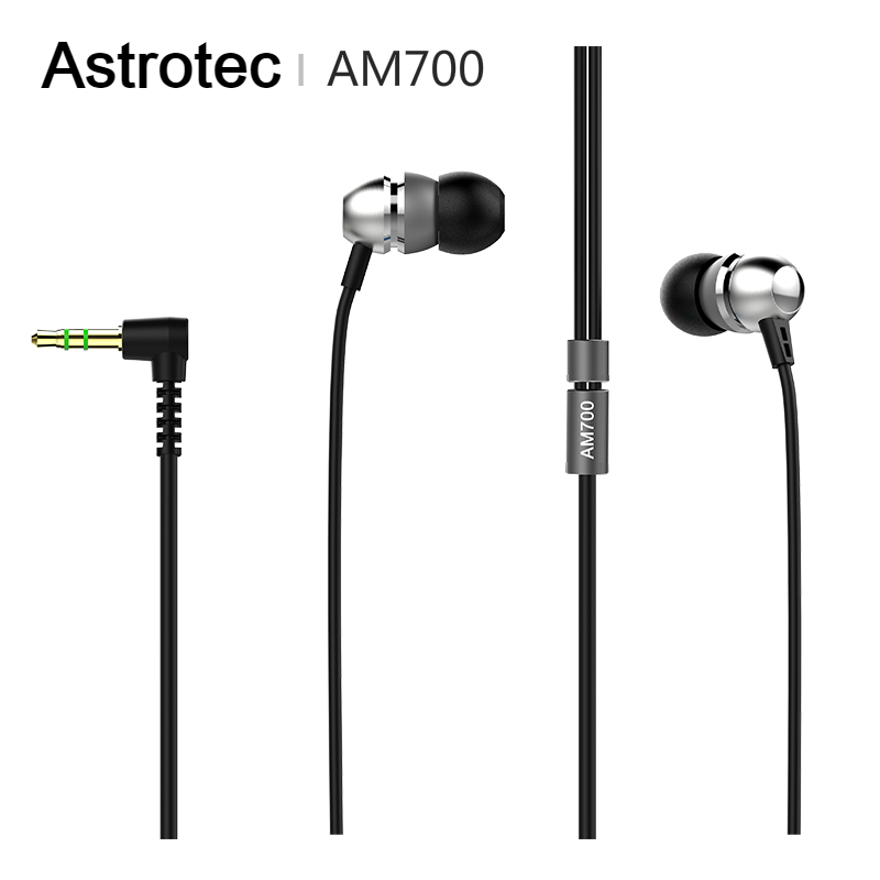 Astrotec AM700 Dynamic Stereo HiFi In-ear Earphone 3.5mm Headset Earphones for iphone Huawei VGP 2015 SUMMER image