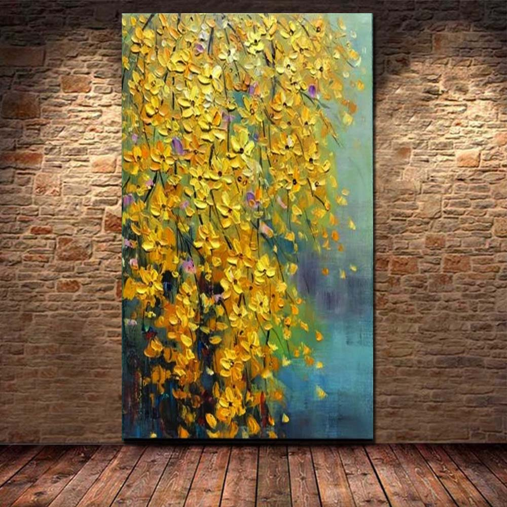 Large Size Painting Art Handmade Abstract Color Oil Painting on ...