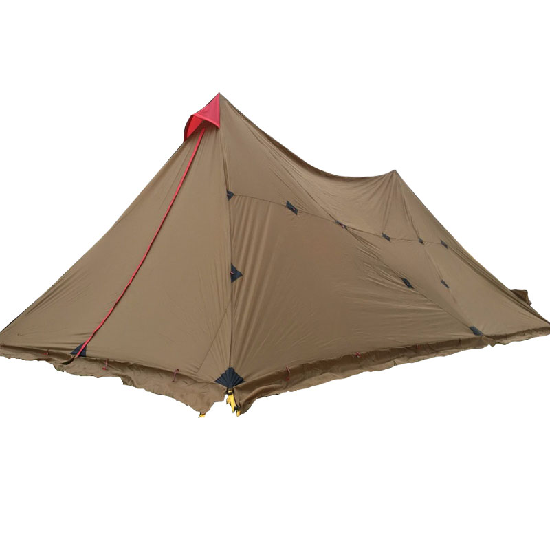 3f ul gear 8-12 Person Outdoor Camping Tent Large Tarp Sun Shelter 7*4m A Tower Base Camp Tents Fast Delivery to Japan outdoor camouflage cloth camping tent sun shelter simple tent windproof rainproof sunshade canopy waterproof cloth 3 3 m