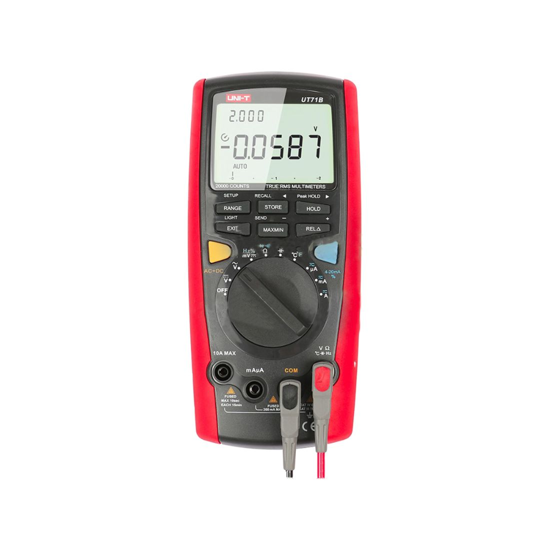 New Style UNI-T 1 set UT71B Intelligent Digital Multimeter Tester True RMS LCR AC DC with a USB cable