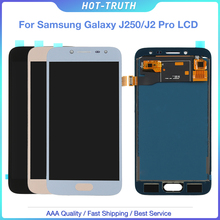 10pcs/Lot For Samsung Galaxy J2 pro 2018 J250 J250F LCD Display and touch screen digitizer assembly adjust brightness