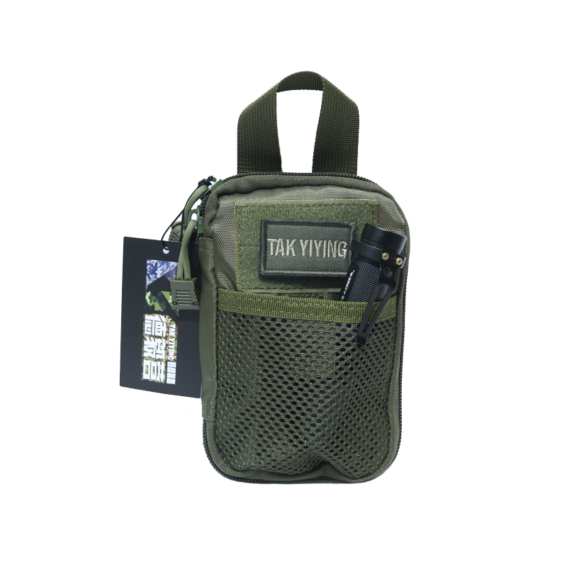TAK YIYING Molle Tactical Medical First Aid Hunting Pouch Travel Pocket Organizer EDC Pouch Bag Cordura Nylon