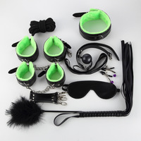 New 10 Sets of Thickened Plush Leather Props